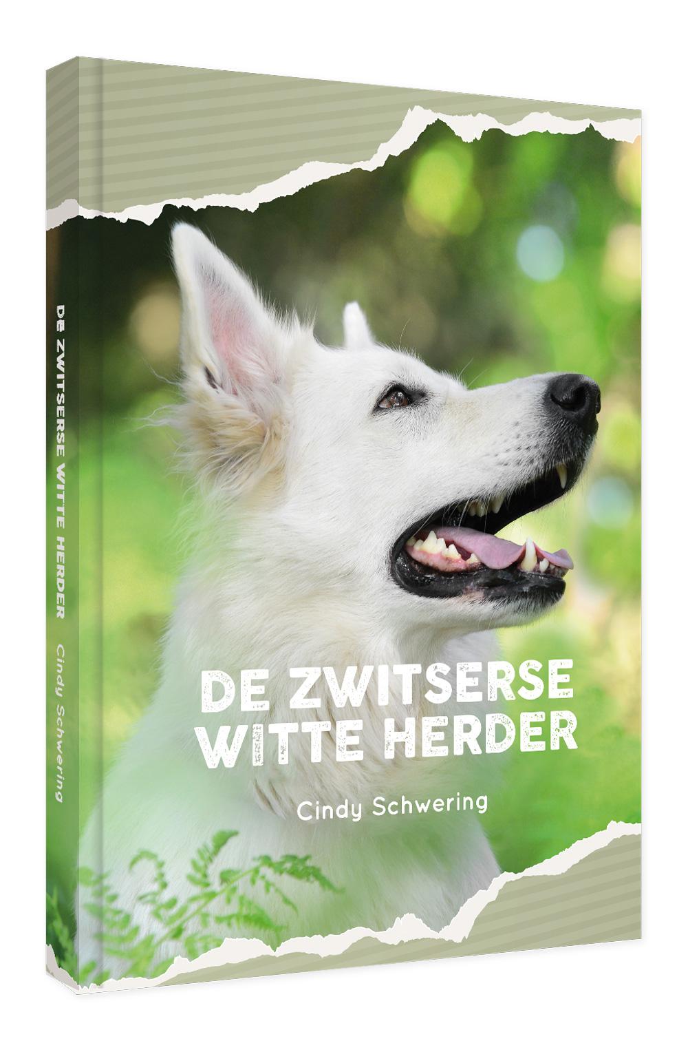 SCHWERING de Zwitserse Witte Herder boekomslag