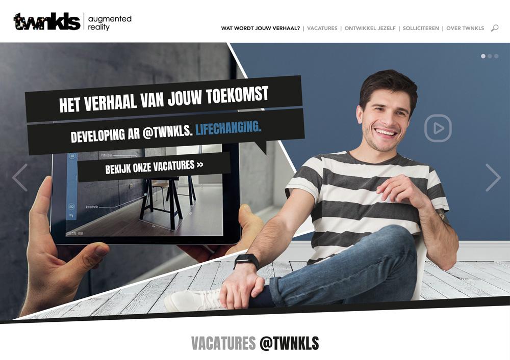 TWNKLS concept employer branding main visuals