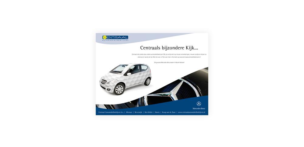 Centraal Automobielbedrijven advertentielijn