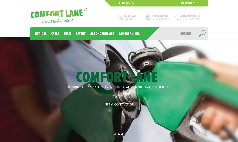 Comfort Lane website