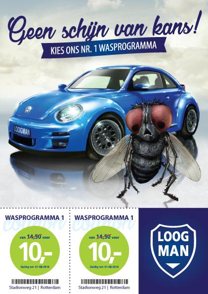 Loogman concept reclamecampagne